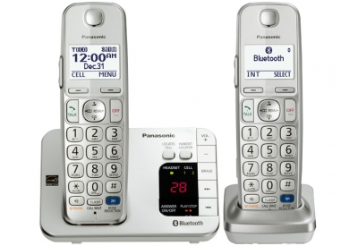 Panasonic - KX-TGE262S - Cordless Phones
