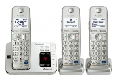 Panasonic - KX-TGE263S - Cordless Phones
