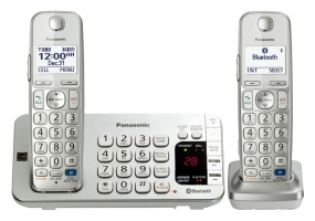 Panasonic - KX-TGE272S - Cordless Phones