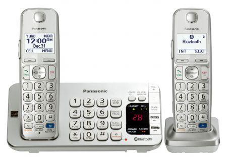 Panasonic - KX-TGE272S - Cordless Phones