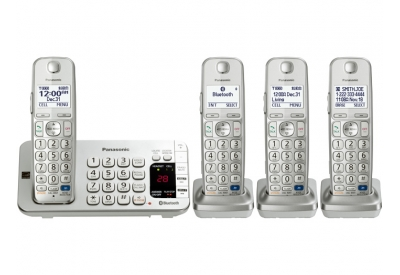 Panasonic - KX-TGE274S - Cordless Phones