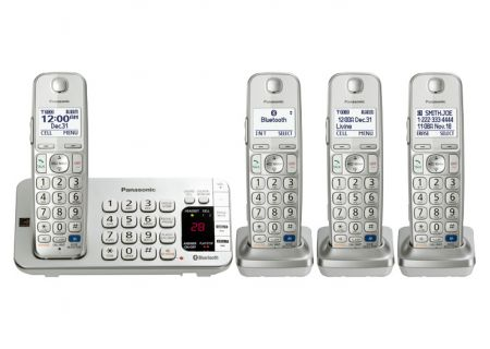 Panasonic - KX-TGE274S - Cordless Phones
