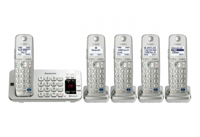 Panasonic - KX-TGE275S - Cordless Phones