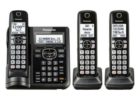 Panasonic - KX-TGF543B - Cordless Phones