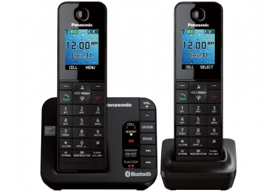 Panasonic - KX-TGH262B - Cordless Phones
