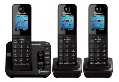 Panasonic - KX-TGH263B - Cordless Phones