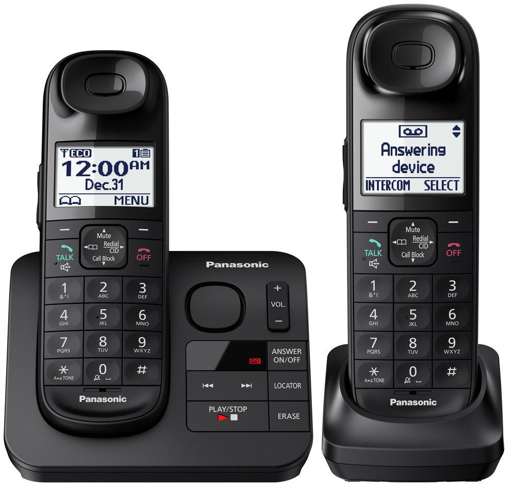 Panasonic Expandable Digital Cordless Phone Kx Tgl432b