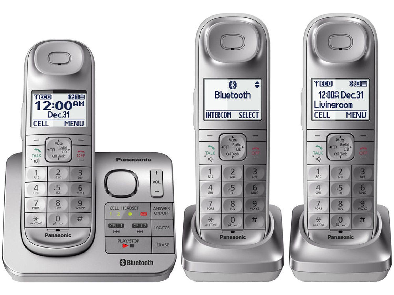 Walmart Stock Phone Number >> Panasonic Link2Cell Digital Cordless Phone - KX-TGL463S