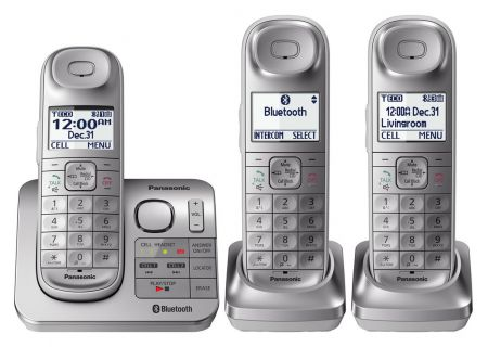 Panasonic - KX-TGL463S - Cordless Phones
