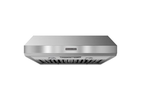 """KitchenAid 36"""" Stainless Steel Under-The-Cabinet Wall Hood - KXU8036YSS"""
