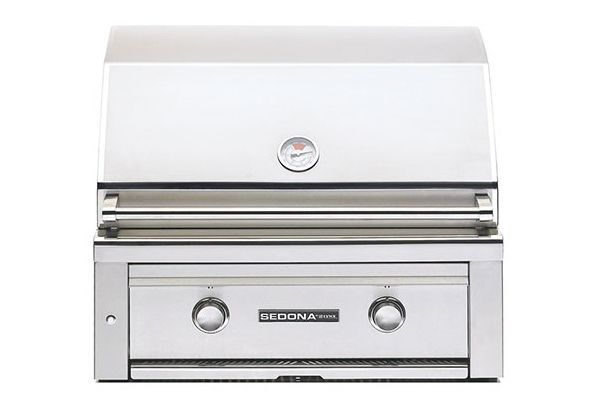 "Lynx Sedona Built-In 30"" Stainless Steel Liquid Propane Gas Grill - L500LP"