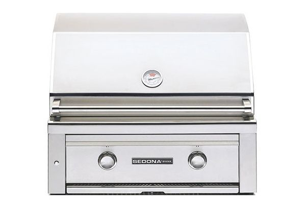 "Large image of Lynx Sedona Built-In 30"" Stainless Steel Natural Gas Grill - L500NG"