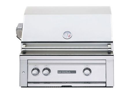 "Lynx Sedona Built-In 30"" Stainless Steel  ProSear & Rotisserie Natural Gas Grill  - L500PSRNG"