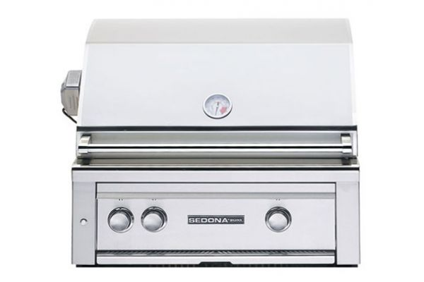 """Large image of Lynx Sedona Built-In 30"""" Stainless Steel Rotisserie Liquid Propane Gas Grill - L500R-LP"""
