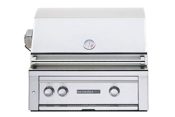 """Large image of Lynx Sedona Built-In 30"""" Stainless Steel Rotisserie Natural Gas Grill - L500RNG"""