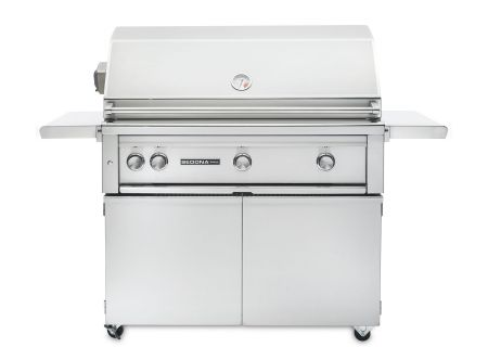 """Lynx Sedona 36"""" Stainless Steel Freestanding Natural Gas Grill With Rotisserie - L600FRNG"""