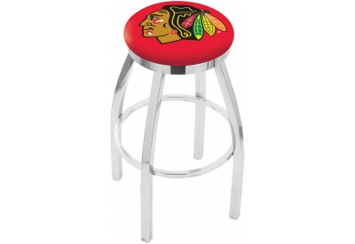 Holland Bar Stool Co. - L8C2CCH30BLACKHAWKSRED - Bar Stools & Counter Stools