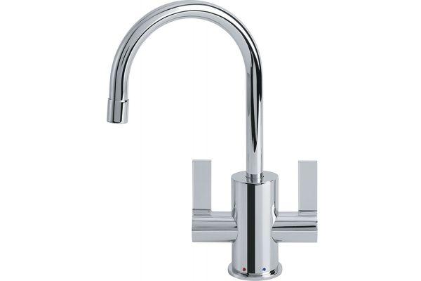 Large image of Franke Polished Chrome Hot & Cold Water Dispenser - LB10200