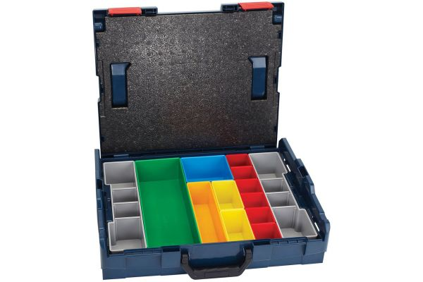 Large image of Bosch Tools Carrying Case With 13 Piece Insert Set - LBOXX1A