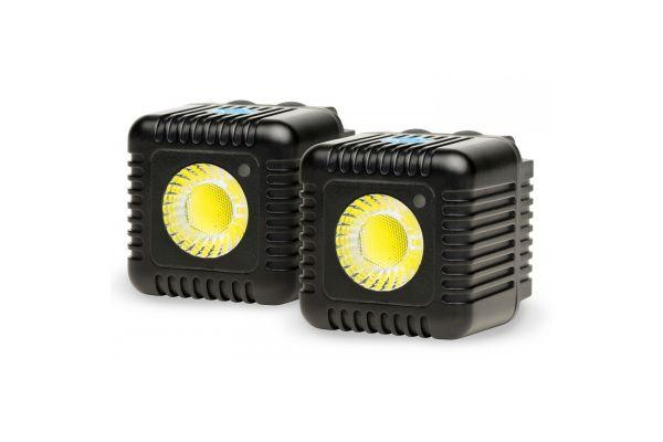 Large image of Lume Cube Black 1500 Lumen Light Dual Pack - LC-22B