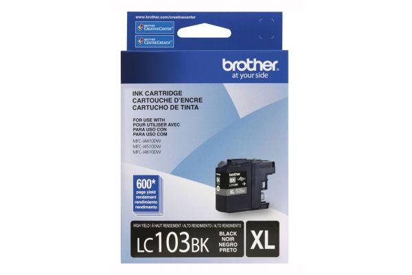 Brother XL Innobella High Yield Black Ink Toner Cartridge - LC103BK