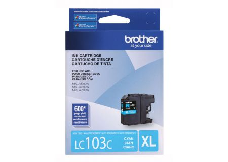 Brother XL Innobella High Yield Cyan Ink Toner Cartridge - LC103C