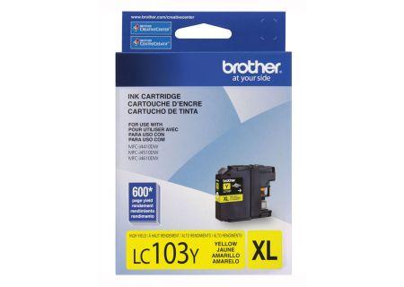Brother XL Innobella High Yield Yellow Ink Toner Cartridge - LC103Y