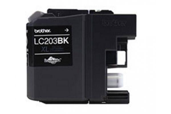 Large image of Brother XL Innobella High Yield Black Ink Toner Cartridge - LC203BK