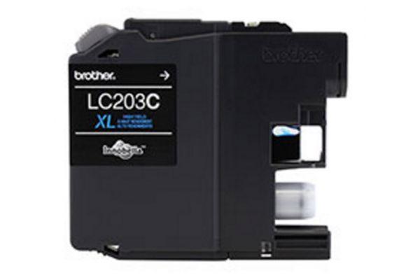 Brother XL Innobella High Yield Cyan Ink Toner Cartridge - LC203C