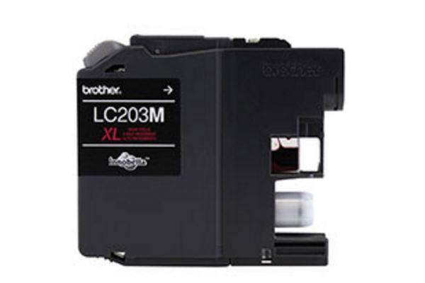 Large image of Brother XL Innobella High Yield Magenta Ink Toner Cartridge - LC203M