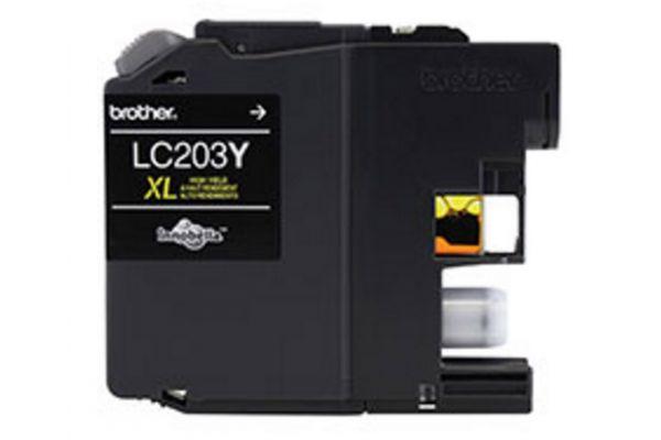 Brother XL Innobella High Yield Yellow Ink Toner Cartridge - LC203Y