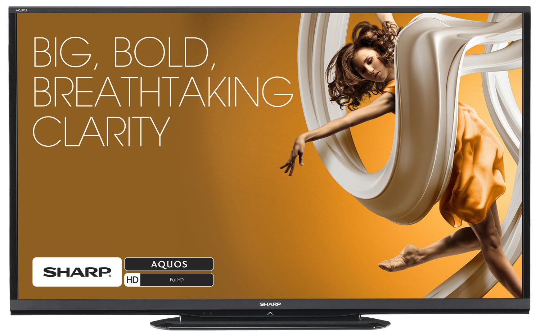 "Sharp AQUOS HD 60"" 1080P 120Hz LED Smart TV"