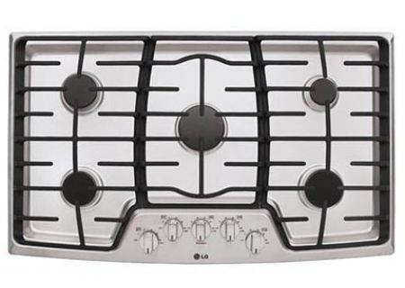 LG Stainless Gas Cooktop With SuperBoil - LCG3611ST