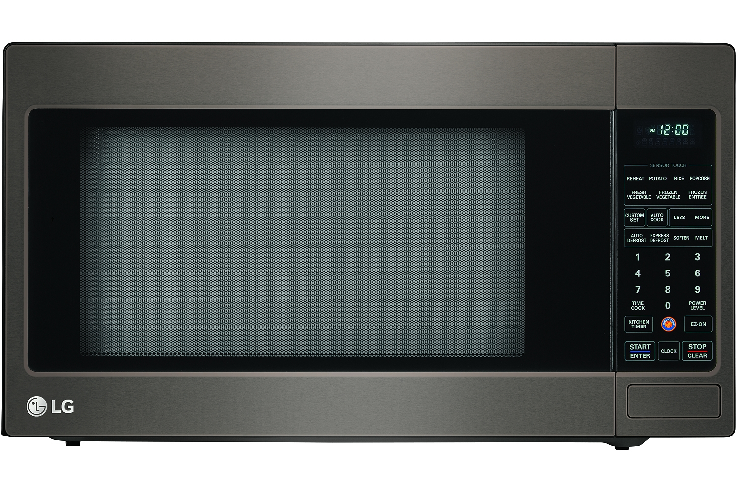 Lg Black Stainless Countertop Microwave Oven Lmxs27626d