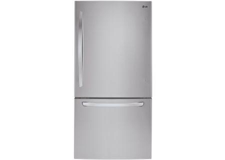 LG Stainless Steel Bottom Freezer Refrigerator - LDCS22220S