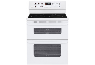 LG - LDE3015SW - Electric Ranges