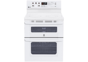 LG - LDE3017SW - Free Standing Electric Ranges