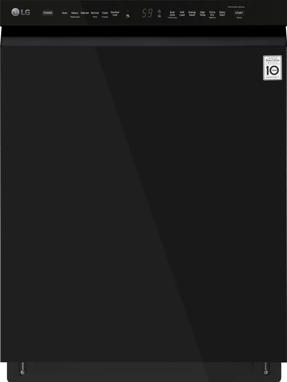 LG Black Built-In Dishwasher with QuadWash