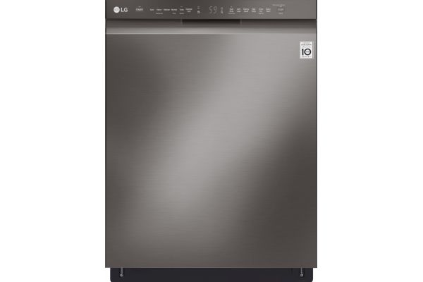 "LG 24"" Black Stainless Steel Built-In Dishwasher With QuadWash - LDF5545BD"