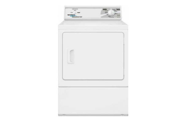 Large image of Speed Queen White Commercial Gas Dryer - LDG30RGS113TW01