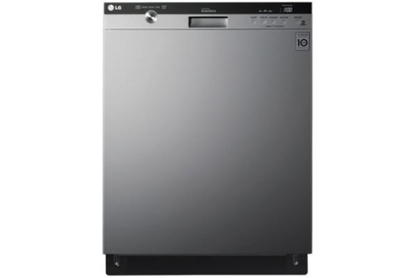 """Large image of LG 24"""" Semi-Integrated Stainless Steel Dishwasher - LDS5540ST"""