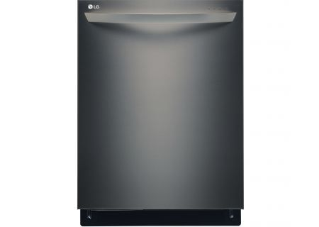 LG Black Stainless Steel Built-In Dishwasher - LDT9965BD