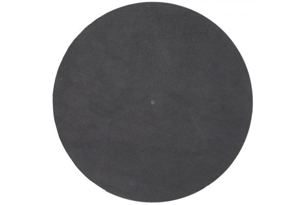 Large image of Pro-Ject Leather It Black Sound Tuning Turntable Mat - LEATHERITBK