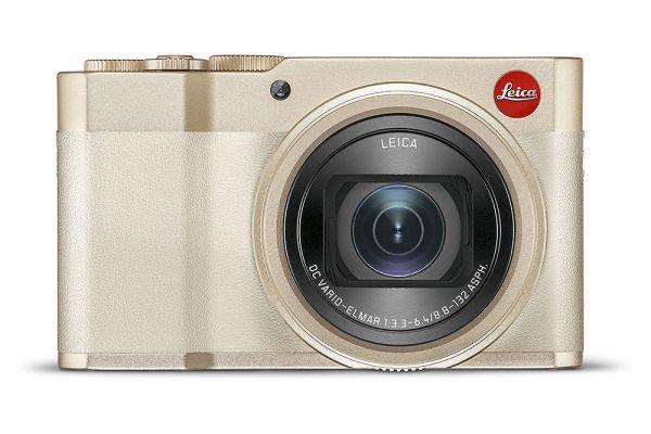 Large image of Leica C-Lux Light Gold Digital Camera - 19126