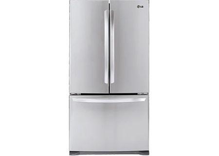 Lg French 3 Door Refrigerator Cabinet Depth Lfc21776st