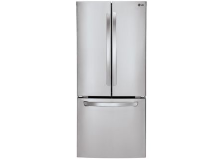 Lg 22 Cu Ft Bottom Freezer Refrigerator Lfc22770st