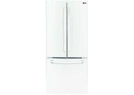 LG White French Door Bottom Freezer Refrigerator - LFC22770SW
