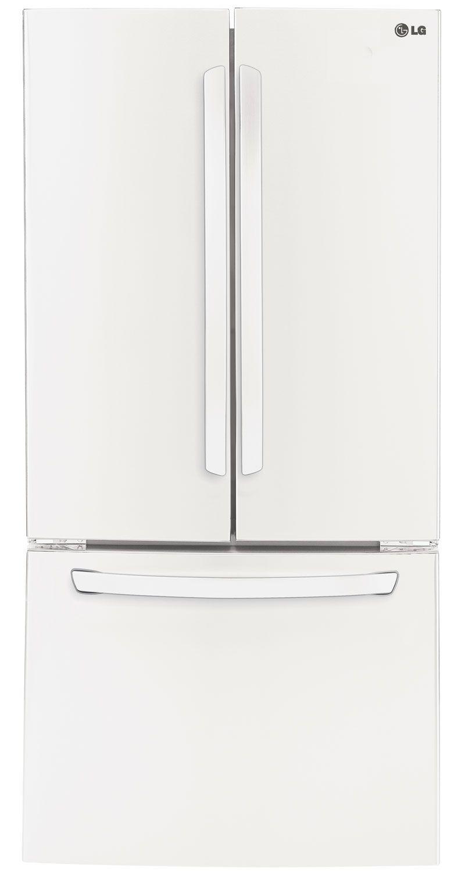 Lg white french door refrigerator lfc24770sw abt lg lfc24770sw french door refrigerators rubansaba