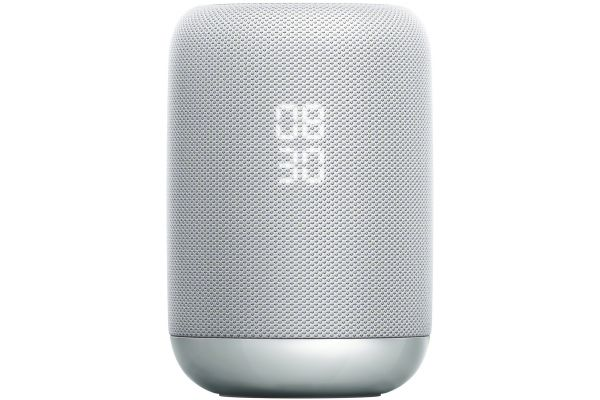 Large image of Sony White Google Assistant Built-In Wireless Speaker - LFS50G/W