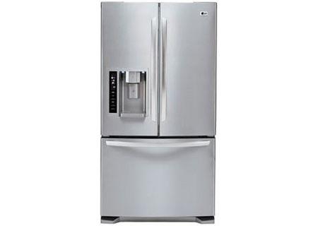 LG Stainless Steel French Door Bottom Freezer Refrigerator - LFX25973ST